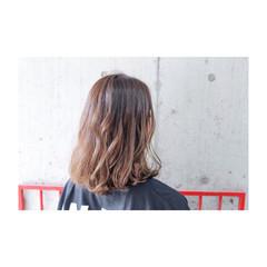 ボブ 外国人風カラー グレージュ アッシュ ヘアスタイルや髪型の写真・画像