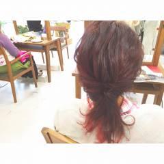 ヘアアレンジ ミディアム パーティ 大人かわいい ヘアスタイルや髪型の写真・画像