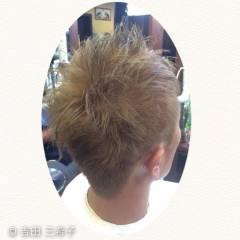 ストリート ブリーチ ダブルカラー 外国人風カラー ヘアスタイルや髪型の写真・画像