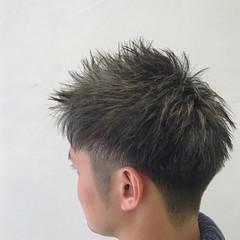 ナチュラル メンズ ボーイッシュ ショート ヘアスタイルや髪型の写真・画像
