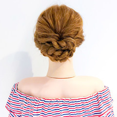 ロング オフィス アウトドア フェミニン ヘアスタイルや髪型の写真・画像