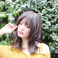 ミディアム 外国人風 簡単スタイリング 無造作ヘア ヘアスタイルや髪型の写真・画像