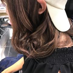 艶髪 透明感 イルミナカラー モード ヘアスタイルや髪型の写真・画像