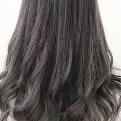 ロング グラデーションカラー ストリート トレンド ヘアスタイルや髪型の写真・画像