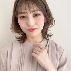 色気 小顔 髪質改善トリートメント ナチュラル ヘアスタイルや髪型の写真・画像