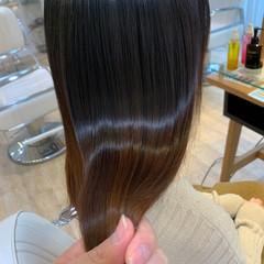 大人ロング ナチュラル 髪質改善 髪質改善トリートメント ヘアスタイルや髪型の写真・画像