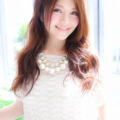 フェミニン モテ髪 大人かわいい ロング ヘアスタイルや髪型の写真・画像