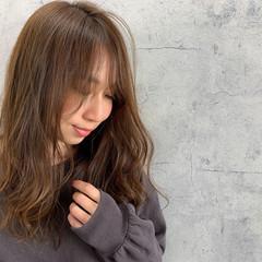 ナチュラルブラウンカラー ショコラブラウン ナチュラル ミルクティーブラウン ヘアスタイルや髪型の写真・画像