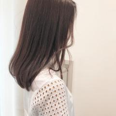 ロング 涼しげ 大人かわいい かわいい ヘアスタイルや髪型の写真・画像