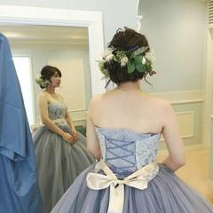エレガント 結婚式 上品 花嫁 ヘアスタイルや髪型の写真・画像