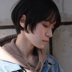 ショート ショートヘア ハンサム ベリーショート ヘアスタイルや髪型の写真・画像