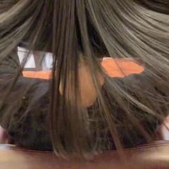 髪質改善トリートメント ナチュラル 艶髪 ツヤ髪 ヘアスタイルや髪型の写真・画像