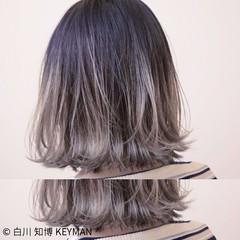 ボブ ストリート 色気 ニュアンス ヘアスタイルや髪型の写真・画像