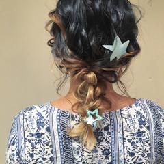 大人かわいい パーティ ヘアアレンジ 結婚式 ヘアスタイルや髪型の写真・画像
