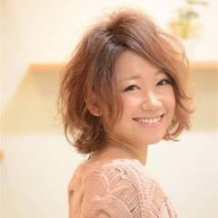 コンサバ ピンク 愛され モテ髪 ヘアスタイルや髪型の写真・画像