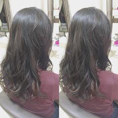 ロング ガーリー ヘアスタイルや髪型の写真・画像