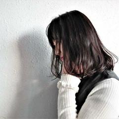 ミディアム 大人女子 ボブ 内巻き ヘアスタイルや髪型の写真・画像