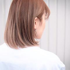 ストリート 大人ハイライト ブリーチカラー ブリーチ ヘアスタイルや髪型の写真・画像