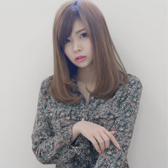 大人かわいい ナチュラル ミディアム 大人女子 ヘアスタイルや髪型の写真・画像