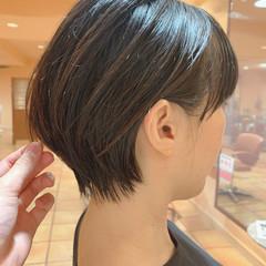 ショートヘア 大人かわいい 大人ショート ショートボブ ヘアスタイルや髪型の写真・画像