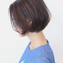 外国人風 エフォートレス ショート フェミニン ヘアスタイルや髪型の写真・画像