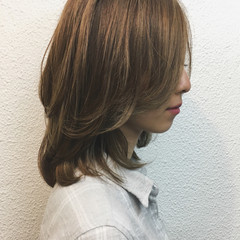 ミディアム ショート ゆるふわ 外国人風 ヘアスタイルや髪型の写真・画像