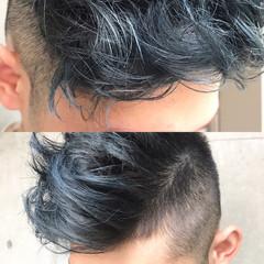 前髪あり 黒髪 パーマ モード ヘアスタイルや髪型の写真・画像