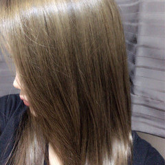 ナチュラル ダブルカラー ハイトーン ハイライト ヘアスタイルや髪型の写真・画像