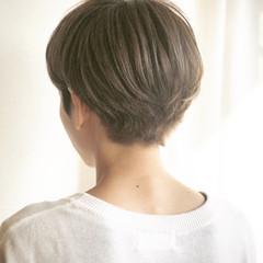 秋 マッシュ ナチュラル ハイライト ヘアスタイルや髪型の写真・画像