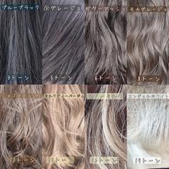 インナーカラー ロング ナチュラル ハイライト ヘアスタイルや髪型の写真・画像