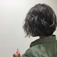 ストリート ボブ 暗髪 外国人風 ヘアスタイルや髪型の写真・画像