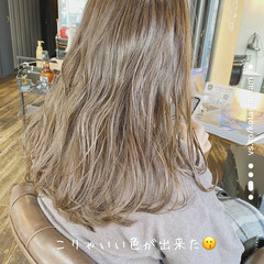 圧倒的透明感 360度どこからみても綺麗なロングヘア 透明感 ナチュラル ヘアスタイルや髪型の写真・画像