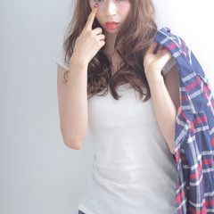 大人女子 ゆるふわ ロング 大人かわいい ヘアスタイルや髪型の写真・画像