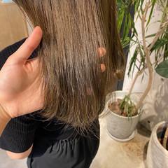 ベージュ ナチュラル アッシュベージュ ミルクティーベージュ ヘアスタイルや髪型の写真・画像