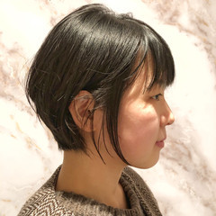 簡単スタイリング ショート ショートボブ ショートヘア ヘアスタイルや髪型の写真・画像