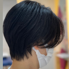 ショート ベリーショート ショートヘア ウルフカット ヘアスタイルや髪型の写真・画像