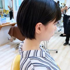ナチュラル 大人ショート ミニボブ ショートヘア ヘアスタイルや髪型の写真・画像