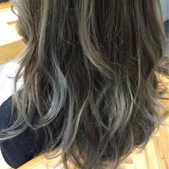 渋谷系 ロング 大人かわいい ナチュラル ヘアスタイルや髪型の写真・画像