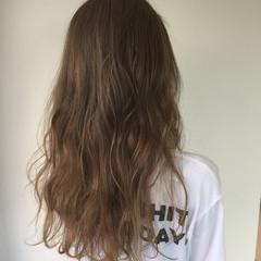 アンニュイ 外国人風 ハイライト ロング ヘアスタイルや髪型の写真・画像