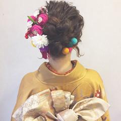 謝恩会 結婚式 成人式 ヘアアレンジ ヘアスタイルや髪型の写真・画像