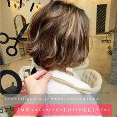 ヘアアレンジ ストリート ハイライト デート ヘアスタイルや髪型の写真・画像