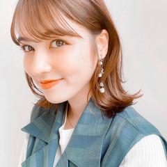 大人女子 ナチュラル 大人かわいい 大人ハイライト ヘアスタイルや髪型の写真・画像