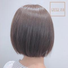 ショートボブ 切りっぱなしボブ ミニボブ ショートヘア ヘアスタイルや髪型の写真・画像