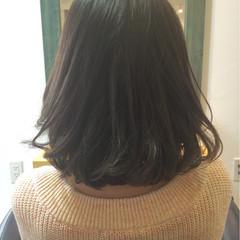 アッシュ ボブ 外国人風 ブラウン ヘアスタイルや髪型の写真・画像