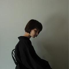 ショートボブ ロブ 大人女子 色気 ヘアスタイルや髪型の写真・画像