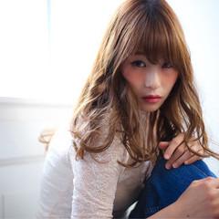 アッシュ 大人かわいい レイヤーカット ブラウン ヘアスタイルや髪型の写真・画像