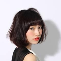 コンサバ 黒髪 清楚 大人かわいい ヘアスタイルや髪型の写真・画像