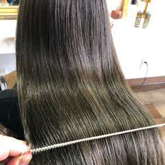 髪質改善 美髪 髪質改善トリートメント 縮毛矯正 ヘアスタイルや髪型の写真・画像