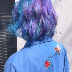 アンニュイ 外国人風 ボブ ストリート ヘアスタイルや髪型の写真・画像