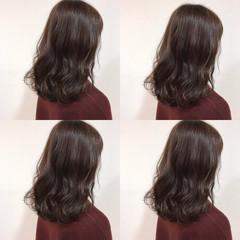 ニュアンス アッシュ ベージュ ブラウン ヘアスタイルや髪型の写真・画像